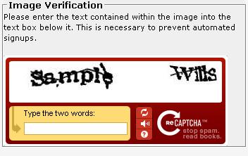reCAPTCHA II