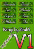 Ranks by ZirakS