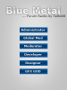 Blue Metal Forum Ranks - Sleek and Stylish